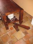 Polohování stolu a zvedací zařízení, bez masážní desky, s vaničkou pro polévání olejem
