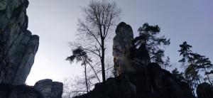 Podvečer ve skalách